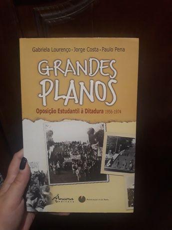 Livro Grandes Planos, oposição estudantil à ditadura