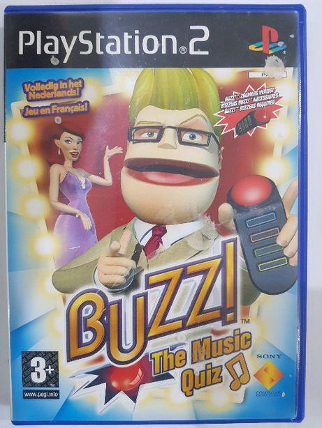 Buzz! Muzyczny Quiz PS2 Używana Kraków