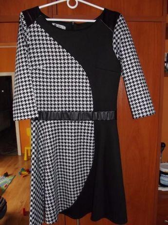 Piękna sukienka pepitka polecam:)