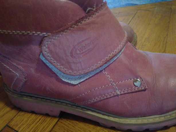 Ботинки кожаные MiniCan Турция