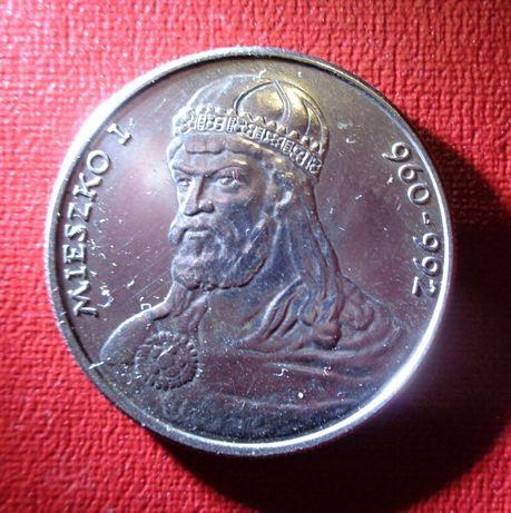 Монета злотый Польша король коллекция доллар фунт франк гривна серебро