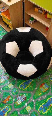 Дитяче крісло м'яч велике 78см чорно-біле