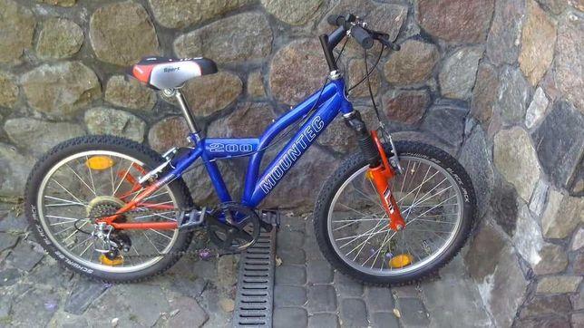 Rower dziecięcy MOUNTEC, koła 20 cali
