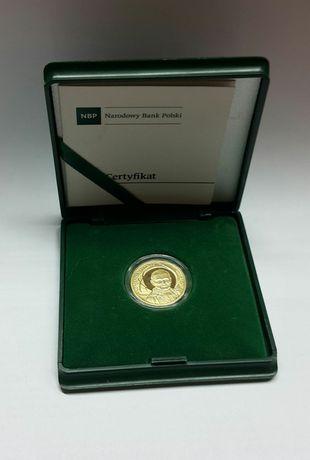 Złota moneta 100zł Kanonizacjia Jana Pawła II