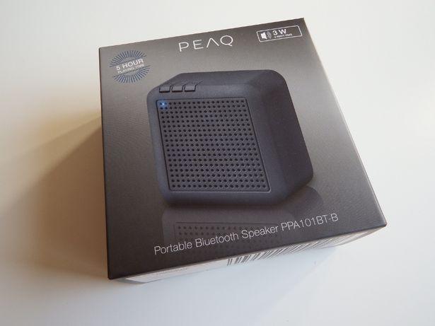 GŁOŚNIK Bluetooth PEAQ 3W NOWY 5 godzin GRANIA gwarancja !