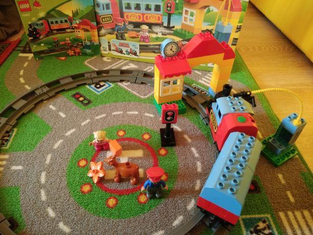Lego duplo 10507 лего дупло поезд