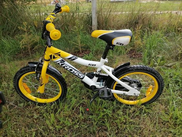 "Rower dziecięcy Kross Racer 16"". Kask GRATIS."