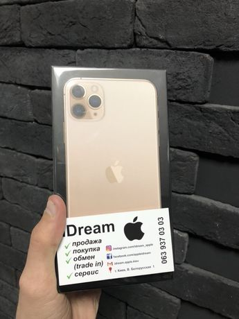 Apple iPhone 11 Pro Max 256 gb Gold TRADE-in НОВЫЙ с ГАРАНТИЕЙ!