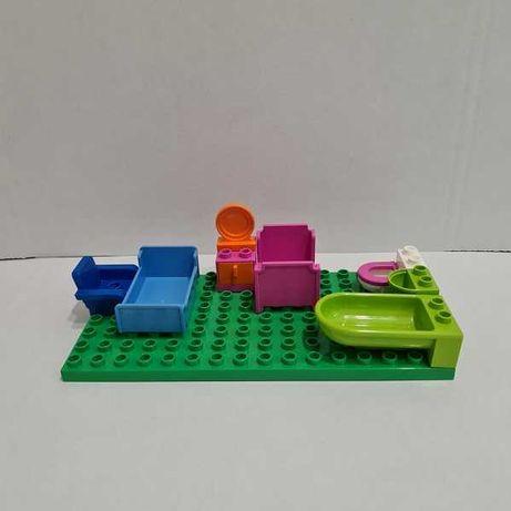Zestaw mebli - pasują do klocków LEGO Duplo. Szybka wysyłka!(1zł)