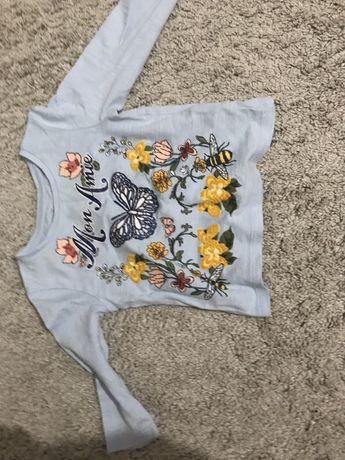 Bluzka dziewczęca Next rozmiar 74