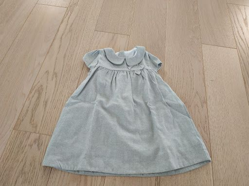 Sukienka szara Coccodrillo rozmiar 86