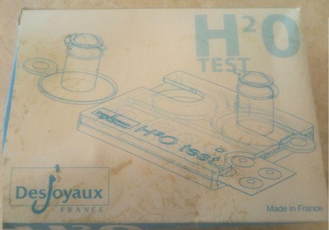 """Тест набор на хлор и рН """"H2O"""" Desjoyaux"""
