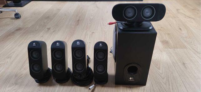 Logitech X-530 + Audio Adapter 5.1