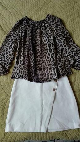 Spódnica bluzka