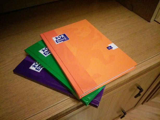 Zeszyty zeszyt oxford 96 kartek kratka a5