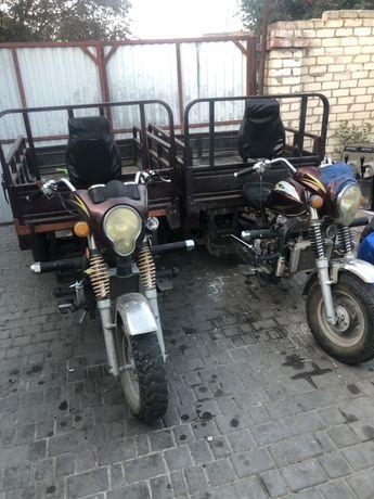 Трицикл мотоцикл грузовой Mustang