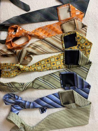 Zestaw krawatow rozne wzory