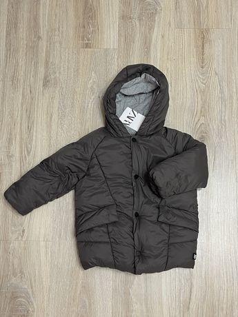 Zara куртка пуховик 3-4 года