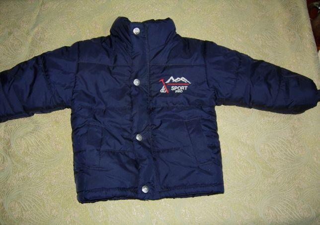 Куртка на меху для мальчика 1-1,5 года