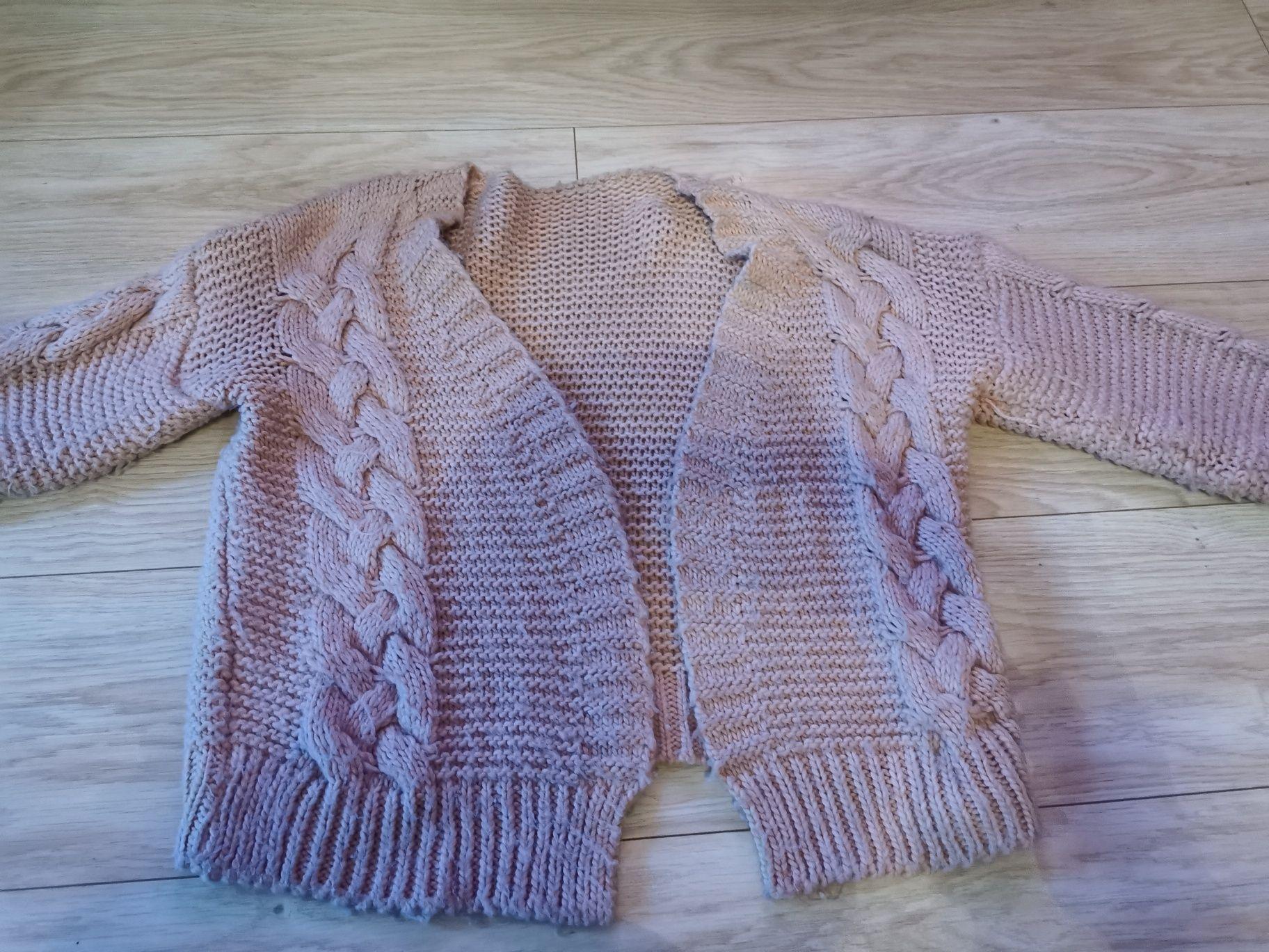 Sweterek damski krótki