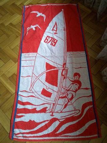 Ręcznik plażowy vintage Prl Surfer.