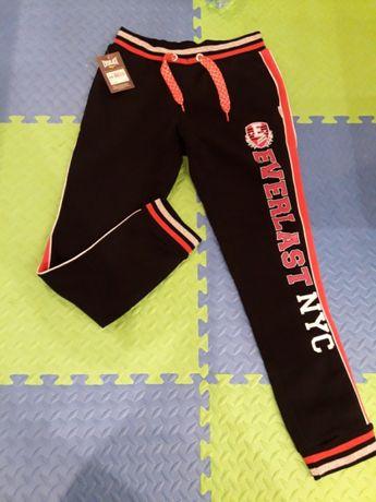 Nowe spodnie dresowe everlast L