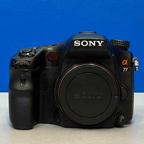 Sony Alpha A77 (Corpo) - 24.3MP
