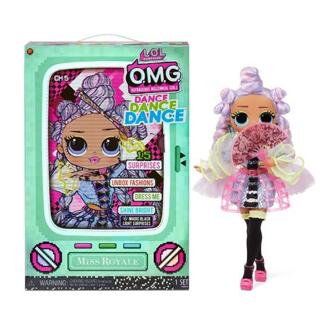 Кукла ЛОЛ ОМГ Мисс Рояль LOL Surprise OMG Dance Miss Royale 117872