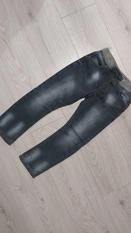 Soodnie jeans roz 122 na 6-7 lat