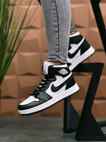 Кожаные кроссовки Nike Air Jordan 1 Retro Аир Джордан. 36-39 р-р