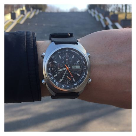 Редкие часы Casio Timber Cruise TIC-100m Chronograph( Seiko, Orient )