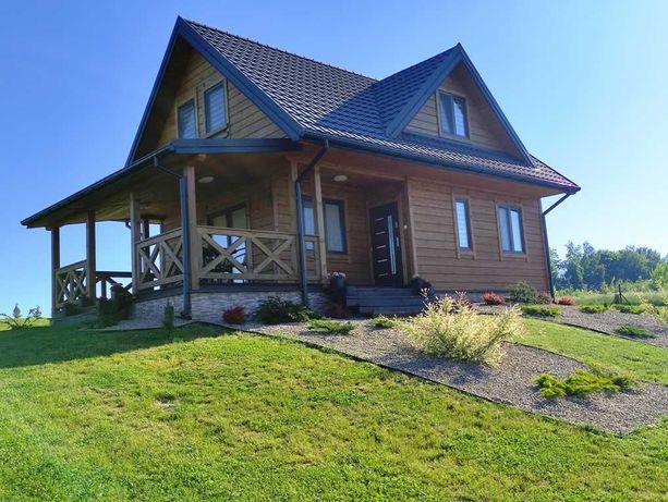 Dom nad jeziorem z linią brzegową - promocja!! 13-19.06 - 280 zł doba!