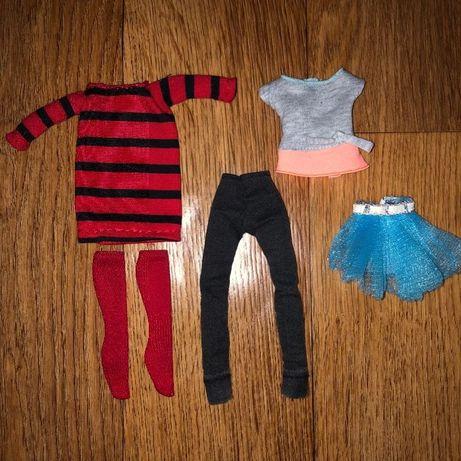 ЛОТ!Одежда для кукол монстр хай барби братц monster high Barbie bratz
