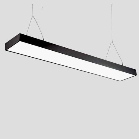Подвесные светодиодные светильники и панели для офисов, торг. центров