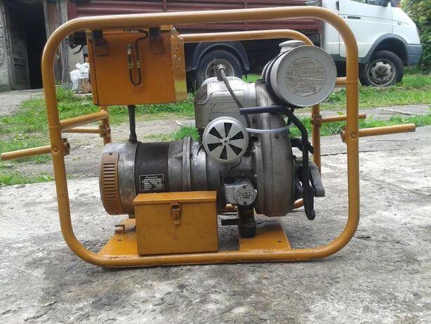 Agregat prądotwórczy, generator prądu. Antyk Eisemann