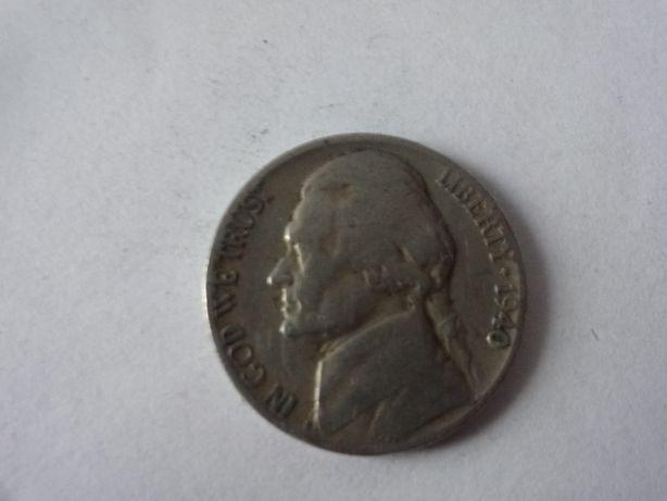 moneta kolekcjonerska liberty 1940 rok five cent
