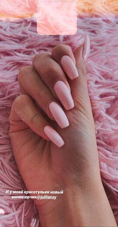 Маникюр, наращивание ногтей и коррекция ногтей