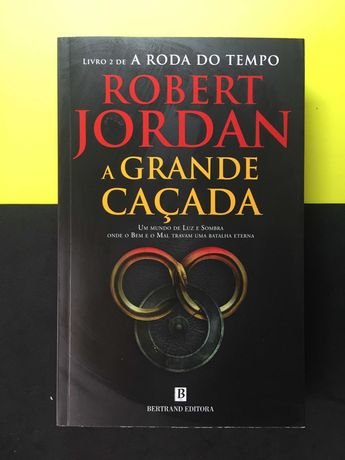 Robert Jordan . A Grande Caçada (Livro NOVO - Portes CTT Grátis)