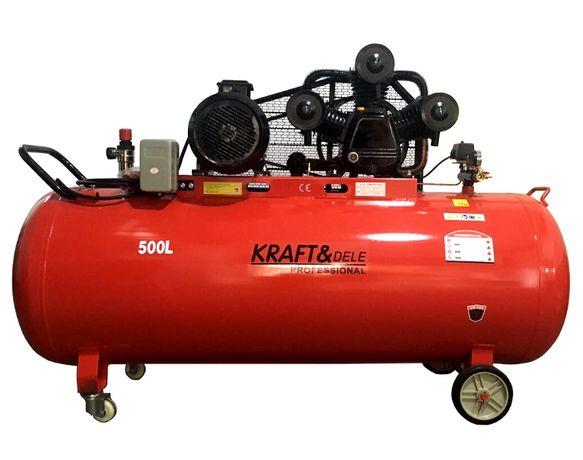 Kompresor 500L sprężarka 14,6KM 400V 1960L