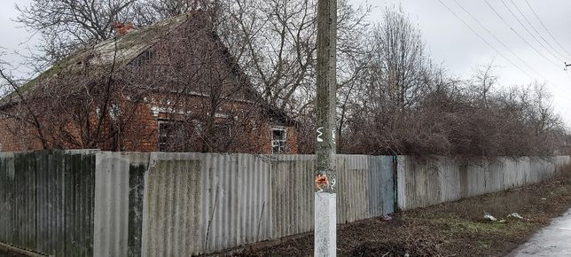 Участок с домиком 37соток в центре г. Первомайский