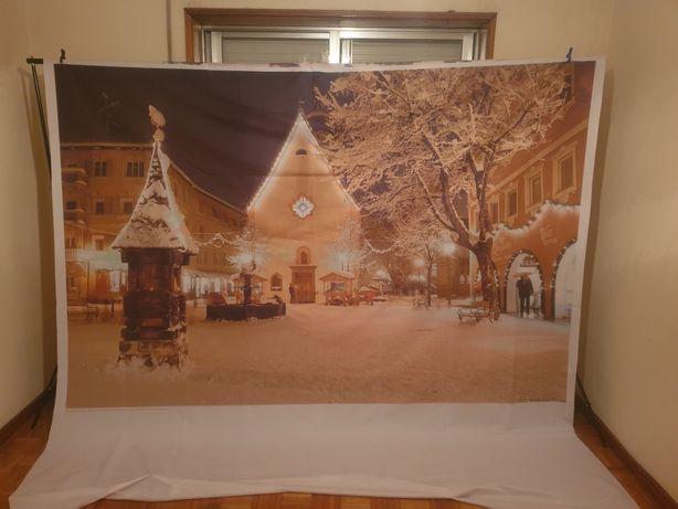 Cenário de natal, backdrop