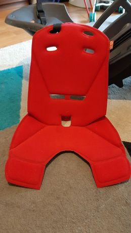 Pokrowiec/siedzisko d fotelika rowerowego hamax siesta/smiley czerwony