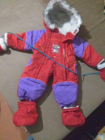 Детская зимняя одежда на девочку