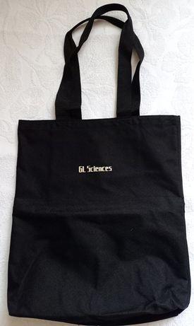 Czarna mocna torba na zakupy