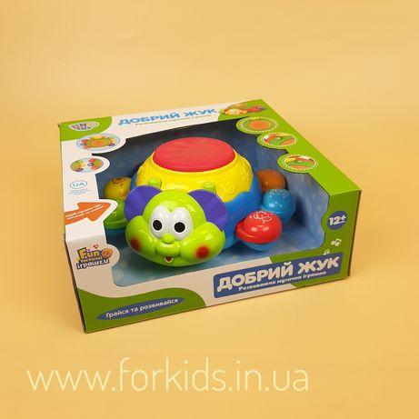 Музыкальная игрушка Добрый жук Limo Toy для детей от 1 года!