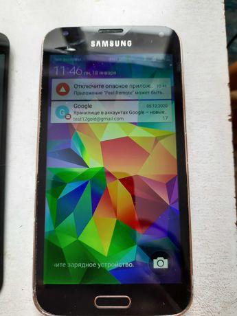Дисплей екран модуль G900 samsung S5 скло (тач)