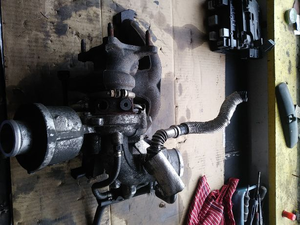 turbosprezarka AUDI A4 B8 1,8TFSI