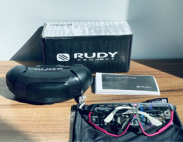 Okulary rowerowe, szosowe, MTB, Rudy Project, Oakley