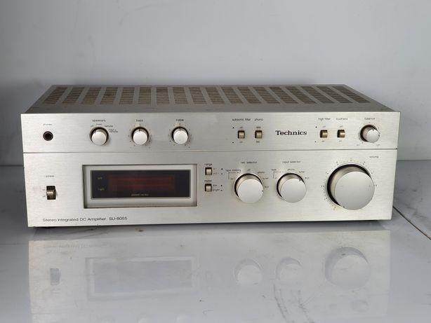 Technics SU 8055 Wzmacniacz Vintage 1979r 2x70W 4 ohm Piekny klasyk