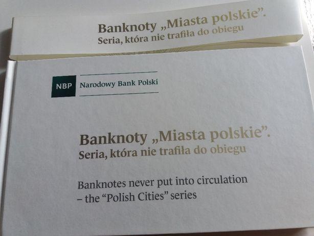 """Banknoty """"Miasta polskie"""""""